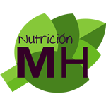 logo nutricion mh, nutriologa, cdmx