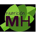 Nutrición MH, logo, servicios, nutrióloga, cdmx